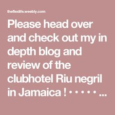 Please head over and check out my in depth blog and review of the clubhotel Riu negril in Jamaica !  • • • • • • • •   #travelwriter #travel #instatravel #travelgram #tourism #instago #passportready #travelblogger #wanderlust #ilovetravel #writetotravel #instatravelling #instavacation #travelblogger #instapassport #postcardsfromtheworld #traveldeeper  #travelstroke #travelling #trip #traveltheworld #igtravel