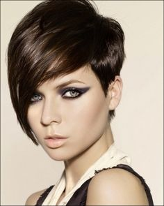 Obviously I am a short hair detailed procession chic...I could do this one! Hah, I did...