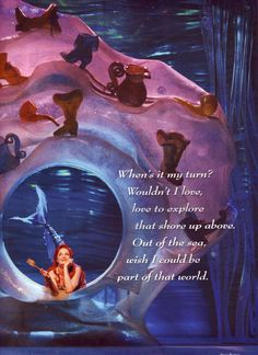 Taking LK in July! Our first of many Mommy & Daughter trips! Ariel in her Grotto with dinglehopper - the-little-mermaid-on-broadway Photo Little Mermaid Broadway, Little Mermaid Play, Broadway Theatre, Musical Theatre, Ariels Grotto, No Ordinary Girl, Disney Magic, Ariel Disney, Disney Princesses