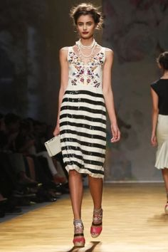 Nicole Miller Spring Summer Ready To Wear 2014 New York #nyfw