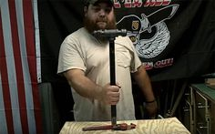DIY War Hammer | Homemade Weapons for SHTF | How To Make Survival Gear for Self Defense and Hunting, check it out at http://survivallife.com/homemade-weapons-shtf/