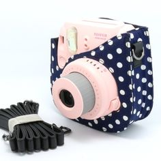 Cute case! For instax mini 8! Goes good with the pink camera which I am getting