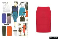 A red skirt from Tatuum.