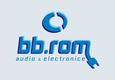 logo for BB.ROM Romania - electronics brand design by Victor Calomfir