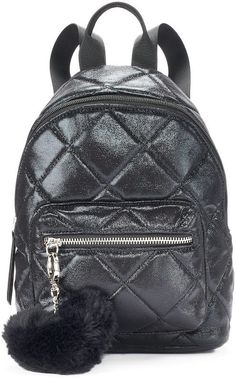 e2e2661ec6 Candies Candie s® Quilted Metallic Mini Backpack Mini Backpack