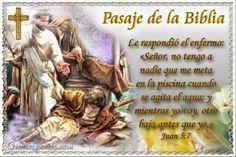 Vidas Santas: Santo Evangelio según san Juan 5:7