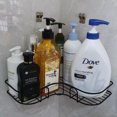 Bathroom Cabinet Organization, Sink Organizer, Small Bathroom Storage, Closet Organization, Organizing, Corner Storage Shelves, Large Shelves, Shelving, Corner Shower Caddy