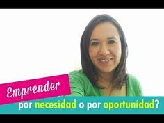 Nuevo #video en #youtube. Ventajas y desventajas de emprender por necesidad o por oportunidad. Descubrelo aquí!  http://jesicaperez.net/?ad=pin #emprender #negocios #marketing