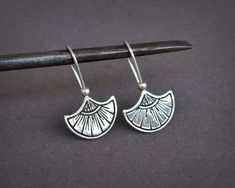 Sterling Silver Sun Earrings Silver Tribal by AlejandraGiannoni