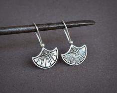 Sterling Silver Sun Earrings Silver Tribal by AlejandraGiannoni