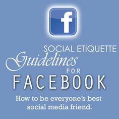 Social Media etiquette by Marcy Massura - very good stuff