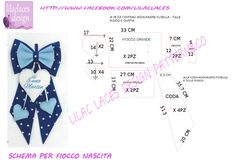 Best 11 birth ribbon pattern , no problem! cartamodello fiocco nascita , no problem Felt Crafts, Fabric Crafts, Diy Projects To Try, Sewing Projects, Felt Name, Baby Co, Baby Drawing, Felting Tutorials, Lace Design