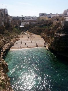 Polignano a Mare, Italy - by Adelina S. Travel Scrapbook, Italy, River, Nature, Outdoor, Outdoors, Naturaleza, Outdoor Games, The Great Outdoors