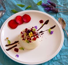 "Panna Cotta means ""cooked cream"". It was the first Italian dessert that drew my attention. It is usually served with some tart berries which…"