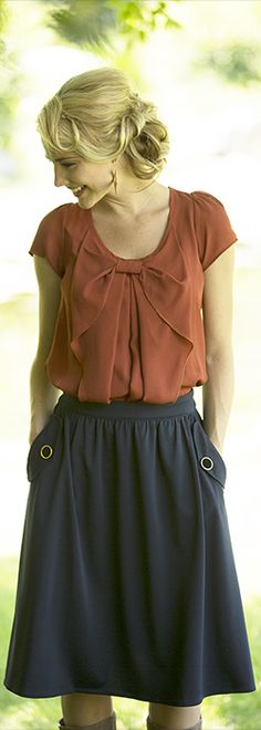 Perfect Pockets Skirt [MFS3014] - $39.99 : Mikarose Boutique, Reinventing Modesty