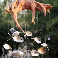 {Buy it} Spoon Fish Wind Chimes