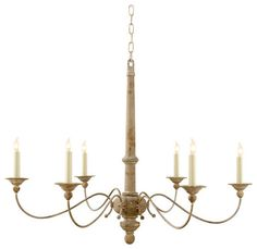 Large Country Chandelier - eclectic - chandeliers - Circa Lighting