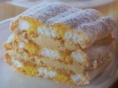 Kardinalschnitte - Mehlspeiskönig Austrian Recipes, Hungarian Recipes, Austrian Food, Hungarian Food, Pound Cake Recipes, Food Festival, Vanilla Cake, Baking Recipes, Food And Drink