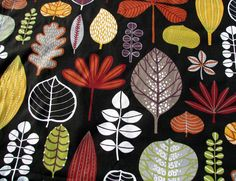 Cotton Fabric By Piece 8 Yards- Scandinavian Design- Professional Print- For Curtains, Roman Blinds, Pillow covers etc.