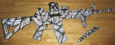 Amelon Coatings LLC: Firearm Photos / SnowCamo ar-15
