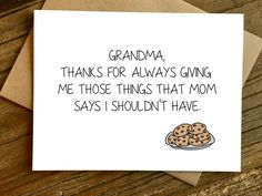 Mothers Day Card For Grandma