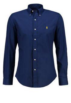 Polo Ralph Lauren SLIM FIT - Skjorte - soho blue - Zalando.no