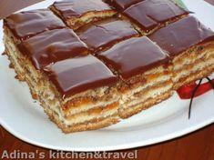 Reteta culinara Desert prajitura Greta Garbo din categoria Prajituri. Specific Romania. Cum sa faci Desert prajitura Greta Garbo