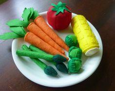 Uova feltro Gioca cibo di LittlePicklepotamus su Etsy
