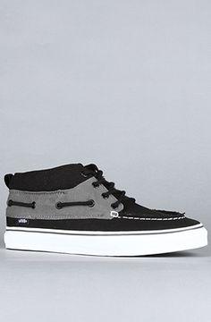 The Chukka Del Barco in Pewter & Black by Vans Footwear