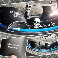 "Páči sa mi to: 42, komentáre: 4 – woOdy_MTTV (@woody_mttv) na Instagrame: ""Thnx to @skulls.for.road 💀💀 big surprise 👌 Dodatočný darček od #skullforroad 😍🔝 #thnx #bro…"" Skulls, Converse Chuck Taylor, High Top Sneakers, Handmade, Instagram, Hand Made, Craft, Skull, Handarbeit"