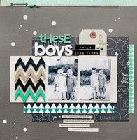 A Project by jacksonsmama from our Scrapbooking Gallery originally submitted 01/07/13 at 11:26 AM