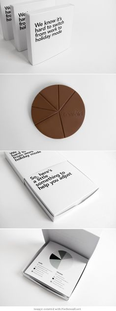 Tenfold Christmas Gift | Creative #gift #packaging #idea of New Zealand agency Tenfold Creative
