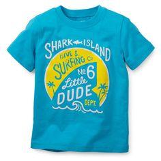 Shark Island Print Tee