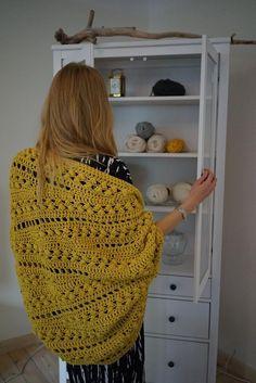Inmost Cardigan Crochet pattern by ElevenHandmade