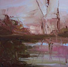 Dawn #1, painting by artist Parastoo Ganjei