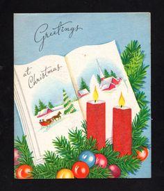 Pretty Christmas Card ~ (CQ 85)