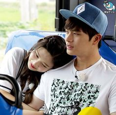 Yook Sungjae and Joy Wgm Couples, Kpop Couples, Cute Couples, Sungjae And Joy, Sungjae Btob, Korean Celebrities, Korean Actors, South Korean Girls, Korean Girl Groups