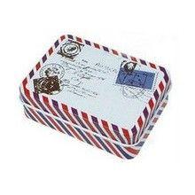 boite à dragées enveloppe pour un thème voyage