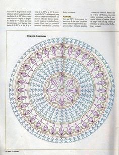Patterns and motifs: Crocheted motif no. 938