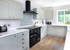 Inframe Lamproom Grey Oak Shaker | Maag Kitchens