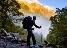 The Milford Track is a widely known tramping (hiking) route in New Zealand – located amidst mountains and temperate rain forest in Fiordland. Milford Track, Great Vacation Spots, Mount Kilimanjaro, Great Walks, Challenge, Adventure Activities, Beautiful Islands, Hiking Trails, Long Distance