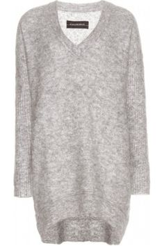 By Malene Birger Amergio wool and mohair-blend sweater dress