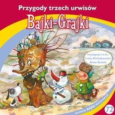 """Bajki-Grajki nr 72 """"Przygody trzech urwisów""""  Ilustracja: Artur Gołębiowski  www.bajki-grajki.pl"""
