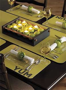 Home Hardware - Tray Chic - Apple Tray
