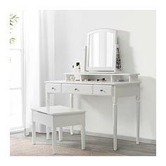 IKEA - TYSSEDAL, Tischspiegel, Passt auch bei wenig Platz.Geringes Gewicht; leicht zu heben und zu versetzen.