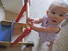 Doing Montessori at Home with your Baby {The Art of Education blog}