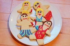 HAPPY SHARK WEEK - shark attack cookies