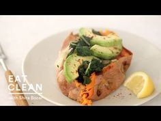 Baked Sweet Potato with Avocado - Eat Clean with Shira Bocar - YouTube