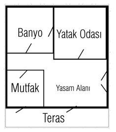 """1+1 Teraslı ev | Türkçe"" by uveyskartalx on Polyvore featuring interior, interiors, interior design, ev, home decor ve interior decorating"