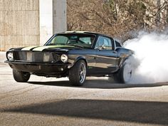 This Electric 1968 Ford Mustang Kicks Out a Shocking 800 HP!